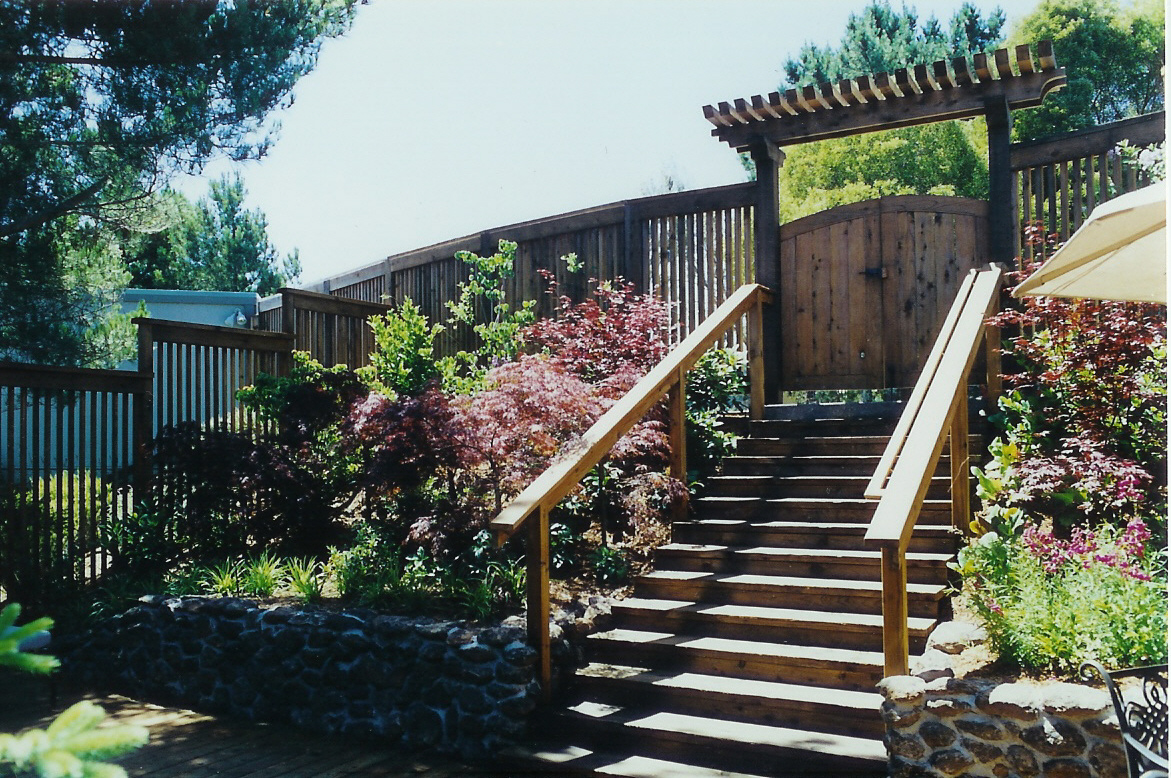 Front Entry Court  Mill Valley California