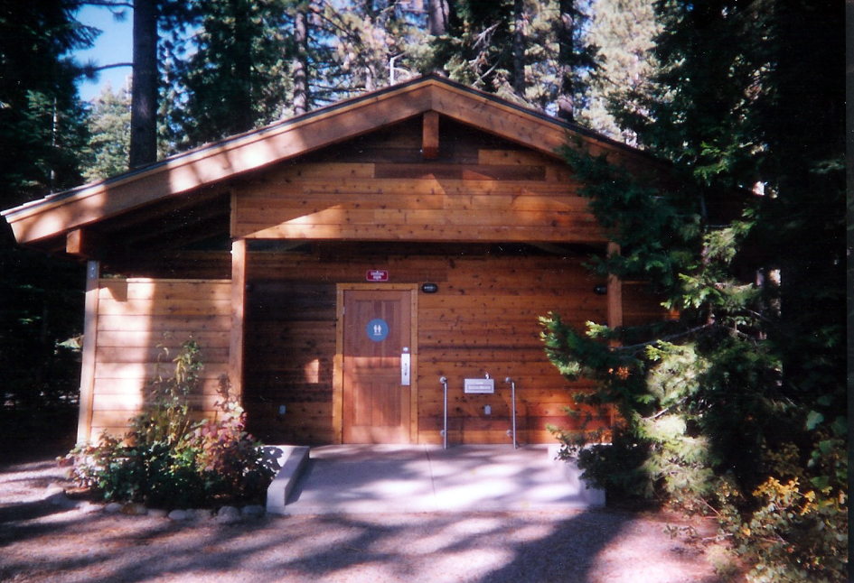 Cedar Bathroom Facility Tahoe Park, California